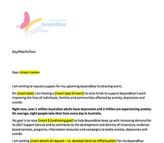 Support letter